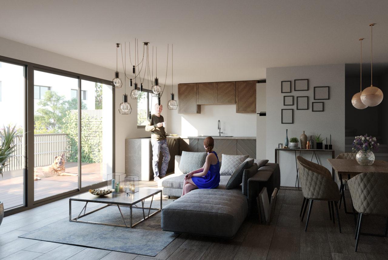 Aster - visuel intérieur maison T5