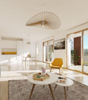 L'atelier d'amarante - Visuel intérieur salon